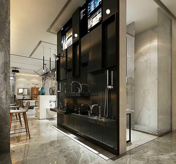 卫浴展厅设计之郎谛卫浴展厅设计——丰品设计