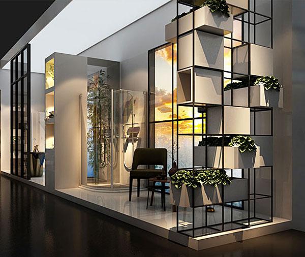 佛山卫浴展厅设计效果图丰品设计之玛莎卫浴