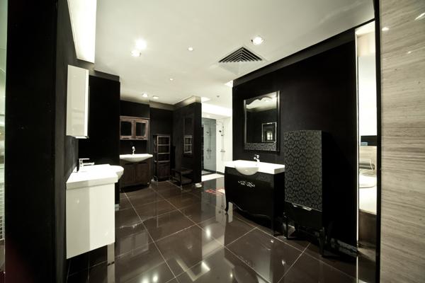 丰品设计作品之尚高卫浴中国陶瓷城展厅