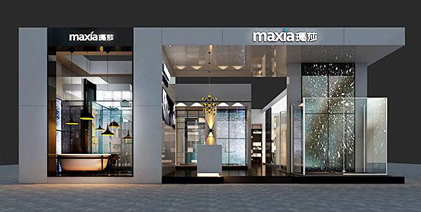 商业空间设计效果图之玛莎卫浴——丰品设计